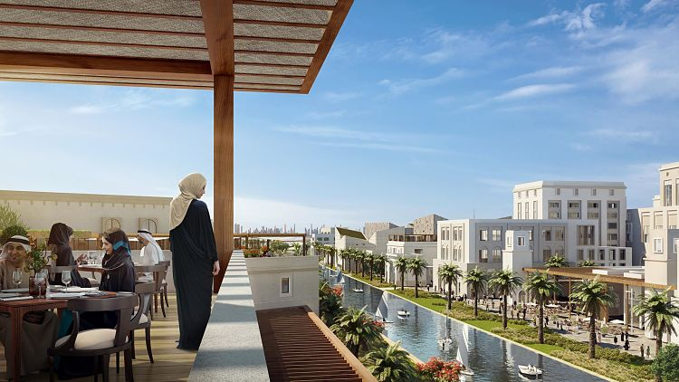 Maryam Island is a water-front development comprising of studio,1BR, 2BR& 3BR apartments in Downtown Sharjah by Eagle Hills Developers.