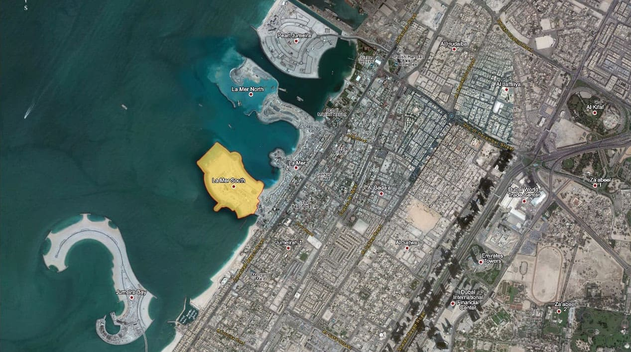 La Mer Island Plot