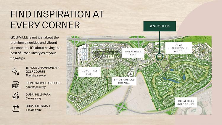 Golf Ville in Dubai Hills Estate | Emaar Properties