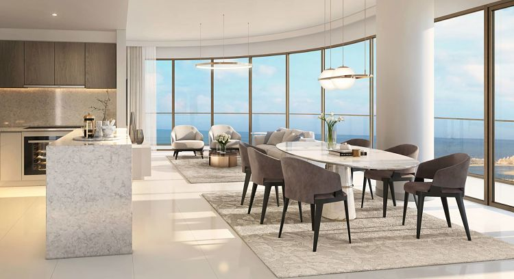 Elie Saab Tower Emaar Beachfront in Dubai Harbour | Emaar Properties