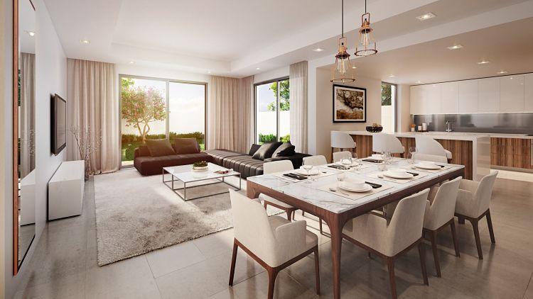 The Cedars Villas in Yas Acres| Aldar Properties