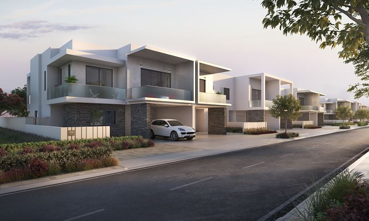 The Cedars Townhouses in Yas Acres  Aldar Properties