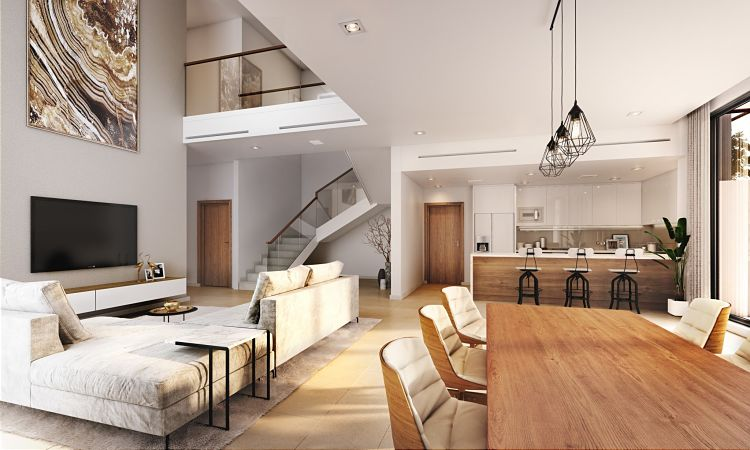 The Cedars Townhouses in Yas Acres| Aldar Properties