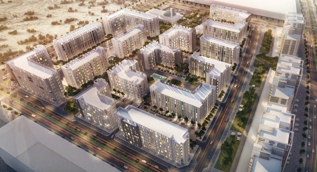 The Solo East Village is a luxury Residential Apartments in Aljada by Arada