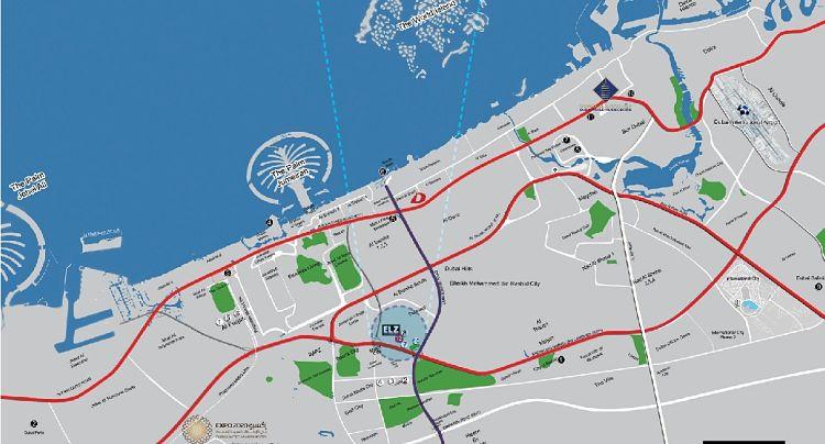 Elz Residence Apartments in Arjan Dubailand   Danube Properties