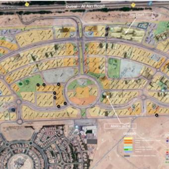 أراضي مجمع دبي لاند ريزيدنس
