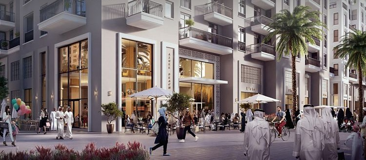 Azure Beach Residences in Maryam Island is a water-front development comprising of studio,1BR, 2BR& 3BR apartments by Eagle Hills Developers.