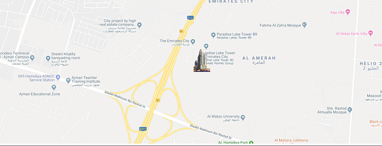 Al Mazraa Tower at Al Amerah, Ajman FAM Holding