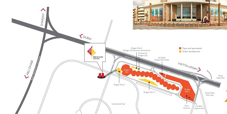 Dragon Towers in Dragon City| Nakheel Properties