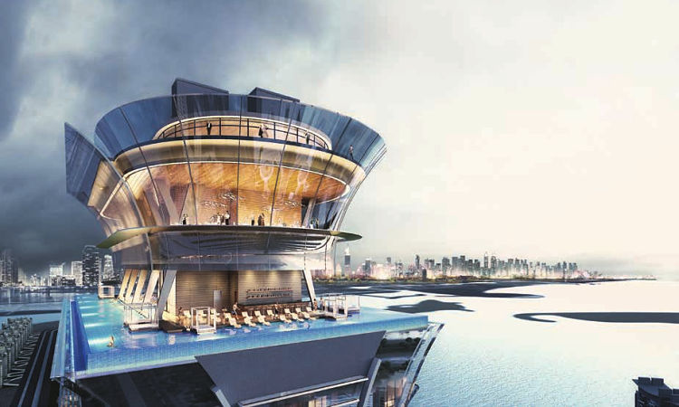 The Palm Tower in Palm Jumeirah| Residential Tower by Nakheel Properties