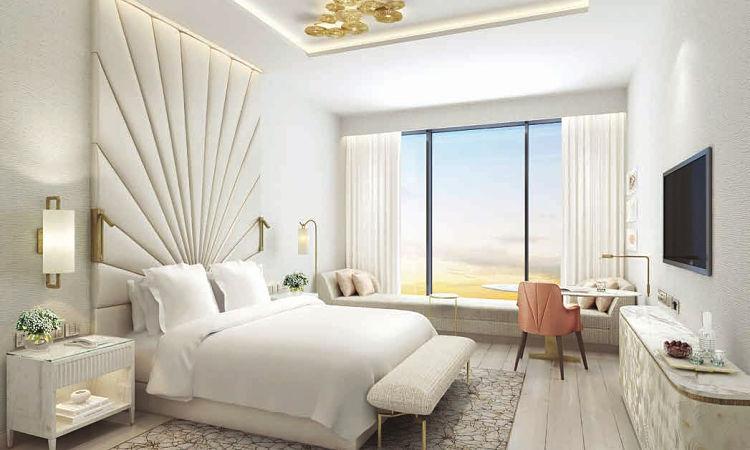 The Palm Tower - Elegant Bedroom