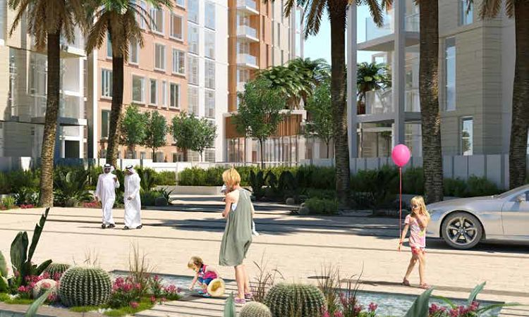 Zohour 1 at Uptown Al Zahia - Open Spaces
