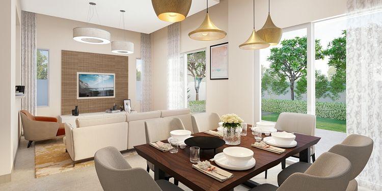 Al Lilac Townhouses Phase 4 in Al Zahia | Modern Homes in Sharjah