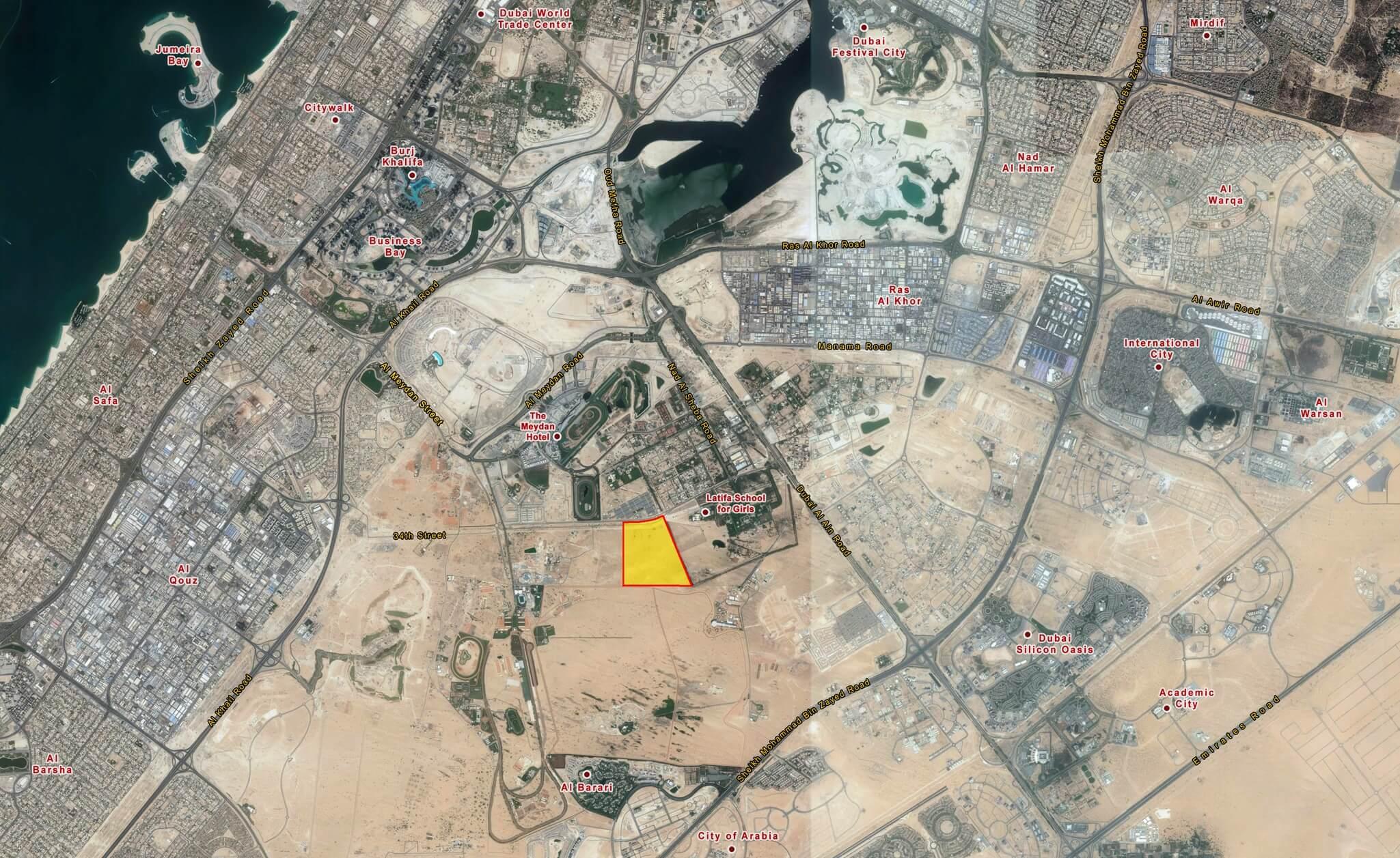 أراضي حدائق ند الشبا