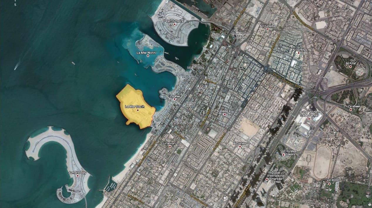قطع اراضي جزيرة لا مير
