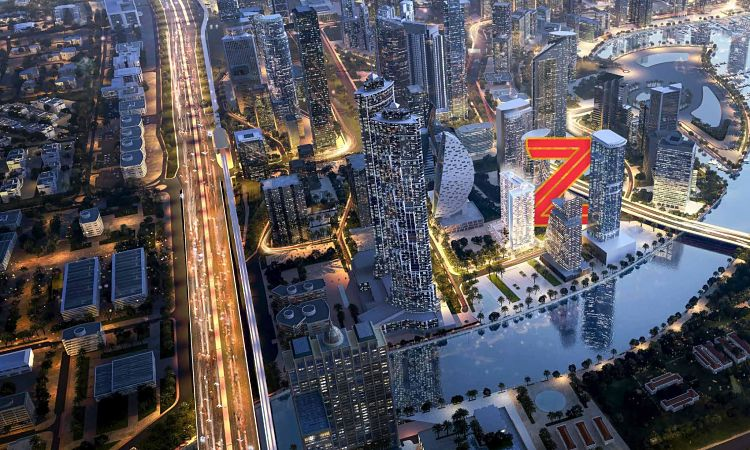 Zada Tower at Business Bay | Luxury Residences by Damac Properties