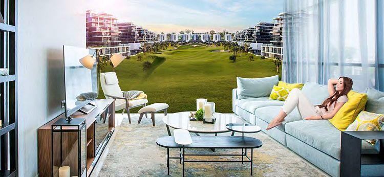 Golf Town at Damac Hills   Damac Properties