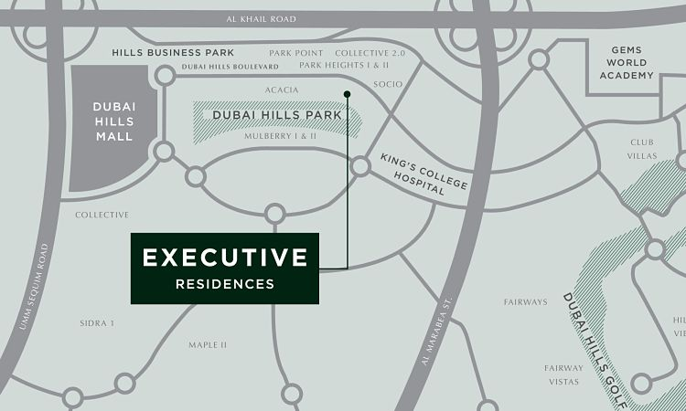 Executive Residences in Dubai Hills Estate | Emaar Properties