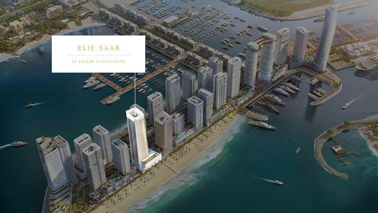 Elie Saab Tower Emaar Beachfront in Dubai Harbour Emaar Properties