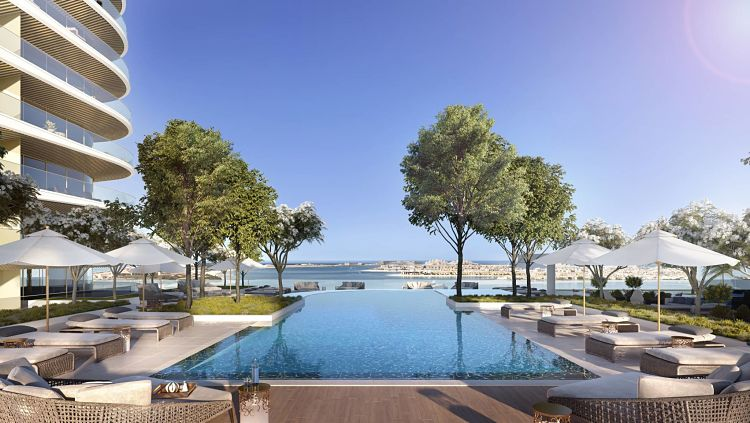 Elie Saab Tower Emaar Beachfront in Dubai Harbour | Emaar Properties