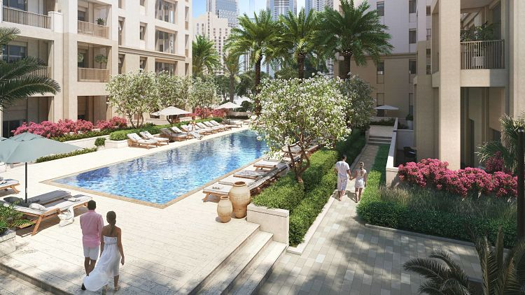 Sunset Creek Beach in Dubai Creek Harbour | Emaar Properties