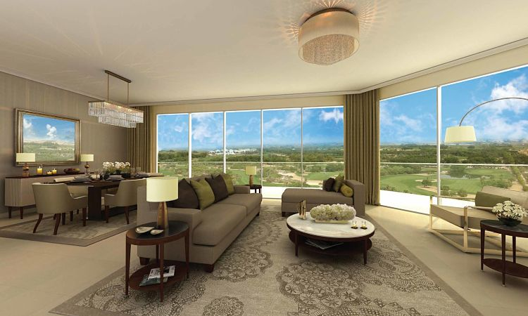 The Hills Residential Apartments - Living Room