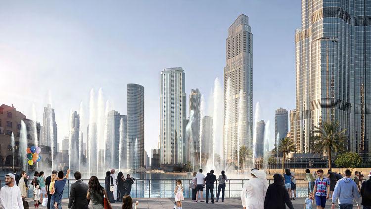 Grande at Opera District - Burj Khalifa & The Dubai Fountain Views