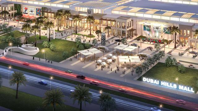 Emaar Malls to open Dubai Hills Mall in 2020