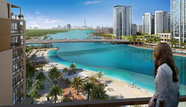 Emaar proceeds 2nd cluster of Creek Beach District