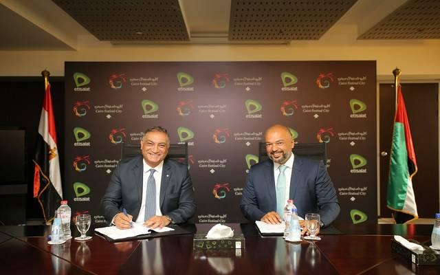 اتصالات مصر تتفق على تقديم حزمة خدمات لكايرو فستيفال سيتي