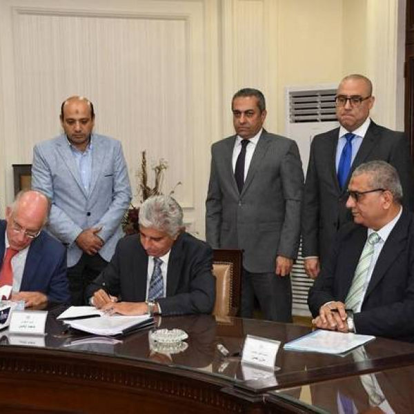 Egypt signs MoU with BESIX, Orascom to build waste-to-fuel plant