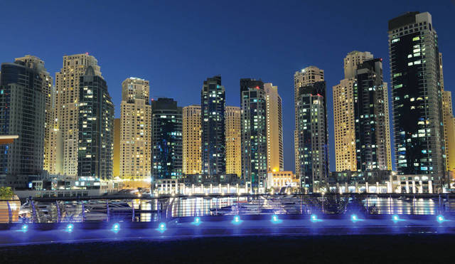 زيادة المباني المنجزة في دبي