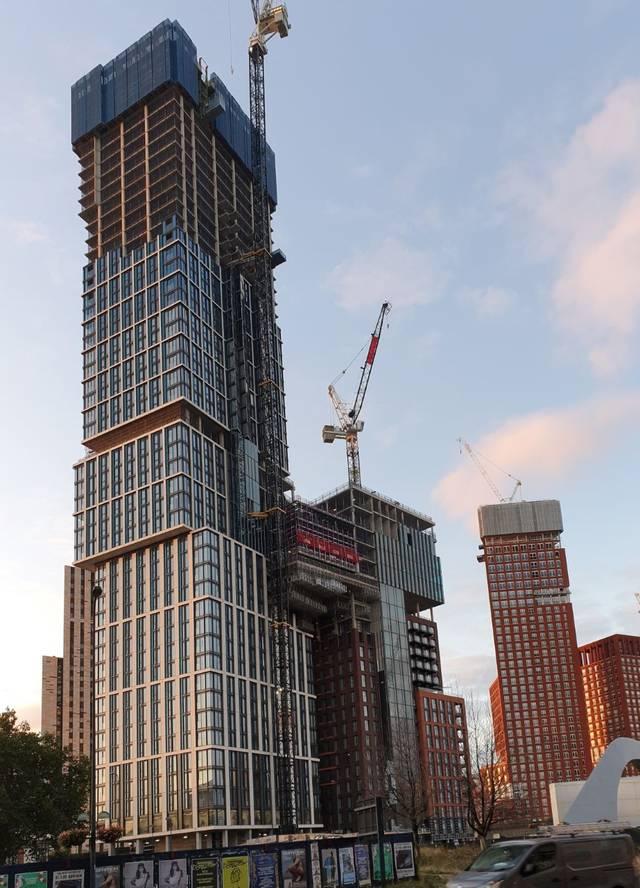 Damac unveils progress at premier London project