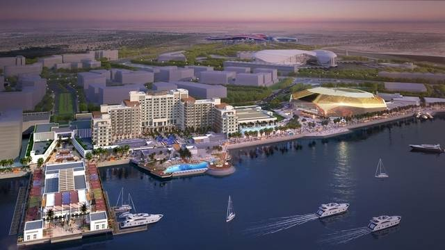 Miral reveals major progress in Yas Bay