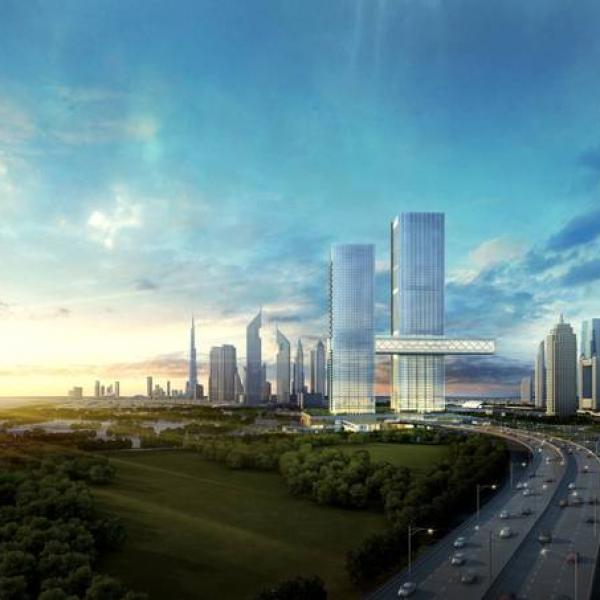 Japan's Nikken Sekkei unveils world's longest cantilever in Dubai