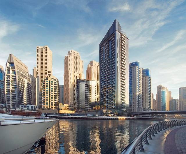 UAE's Tebyan completes 100% of Dubai Marina's Sparkle Towers