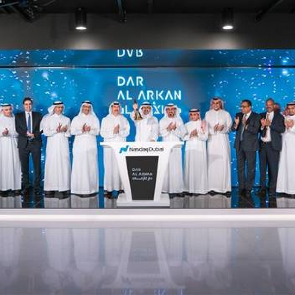 Dar Al-Arkan lists $600m Sukuk on Nasdaq Dubai